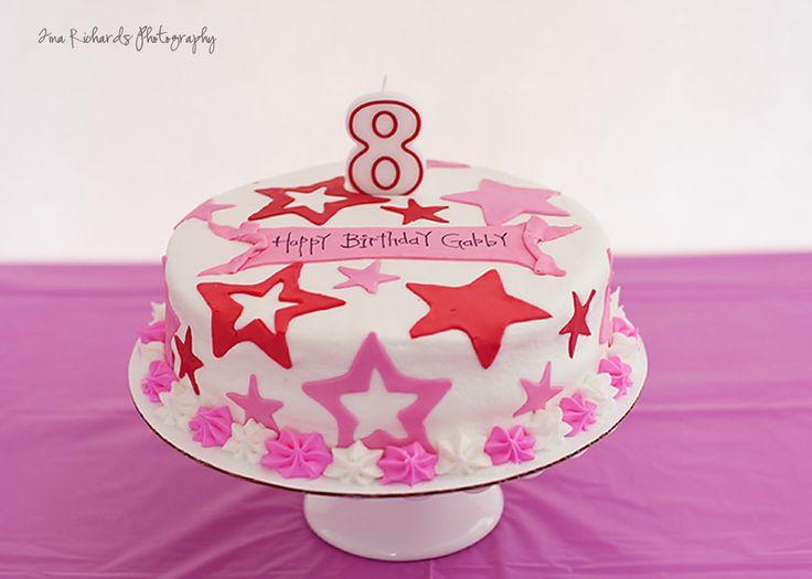 American Girl party - birthday cake