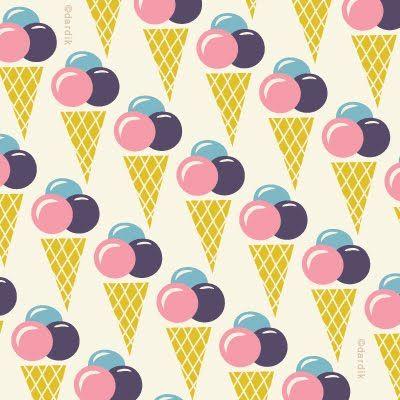 ice cream repeat by Helen Dardik