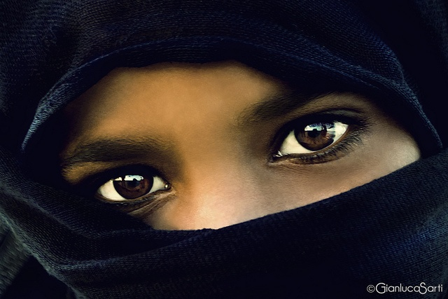 Egyptian eyes by Gianluca Sarti, via Flickr