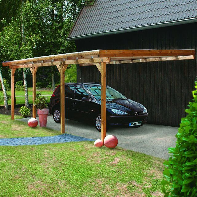20 best carpot images on Pinterest Metal roof installation, Cabin - Montage D Un Garage En Bois