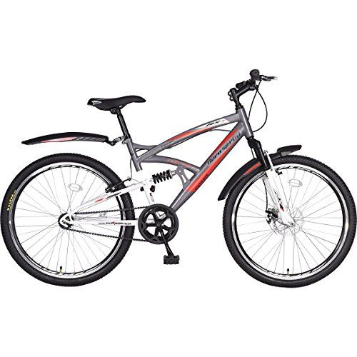 Hero RX1 26T Arjun Kapoor Limited Edition Single Speed Cycle with Disc Brake - Gray & White