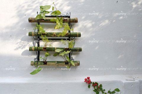 Wrought Iron Bamboo Pot Holder – The mysunnybalcony e-store