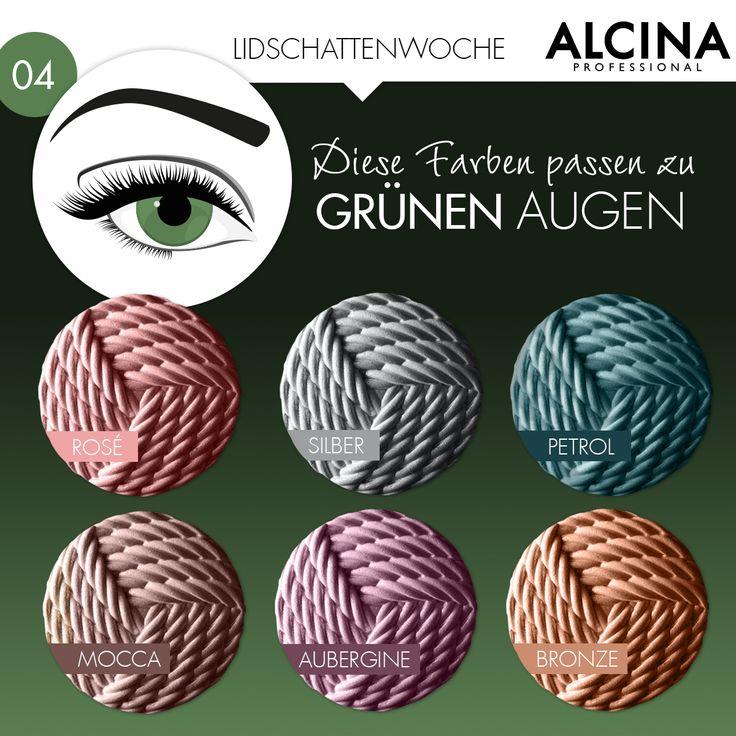 Lidschatten für grüne Augen? Hier siehst du, mit welchen Farben deine grünen …