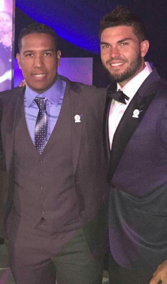 2016 ESPY Awards. Salvador Perez and Eric Hosmer