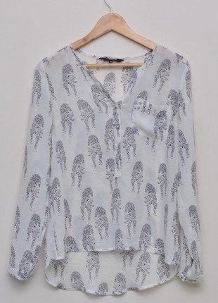 Kup mój przedmiot na #vintedpl http://www.vinted.pl/damska-odziez/koszule/15487884-niepowtarzalna-bluzka-reserved-rozmiar-36