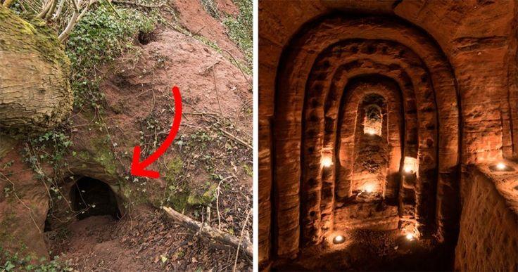 Ανακάλυψαν φωλιά λαγού που οδηγεί σε μυστική σπηλιά 700 ετών χτισμένη από Ιππότες Crazynews.gr