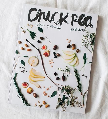 Chickpea Vegan Quarterly Food Magazine, Winter 2014 by Serif & Script on Scoutmob Shoppe
