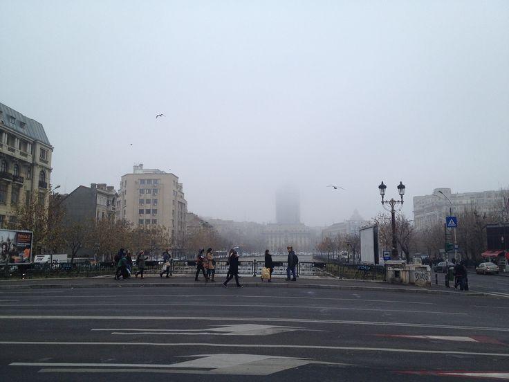 Bucareste, a capital da Romênia.