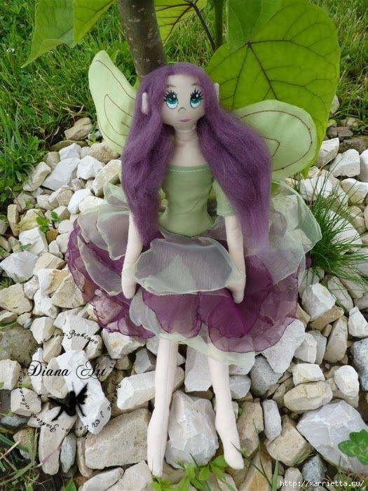 Mimin Dolls: fada do jardim
