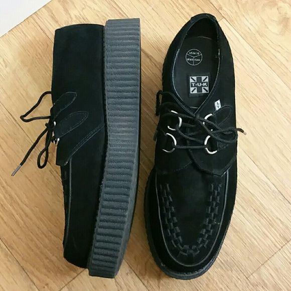NWOT TUK creepers Brand new, never worn. TUK Shoes
