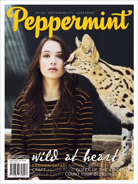 Wild at Heart! Green fashion on safari and Hunting and Curating with Sibella Court in Issue 17 of Peppermint magazine.
