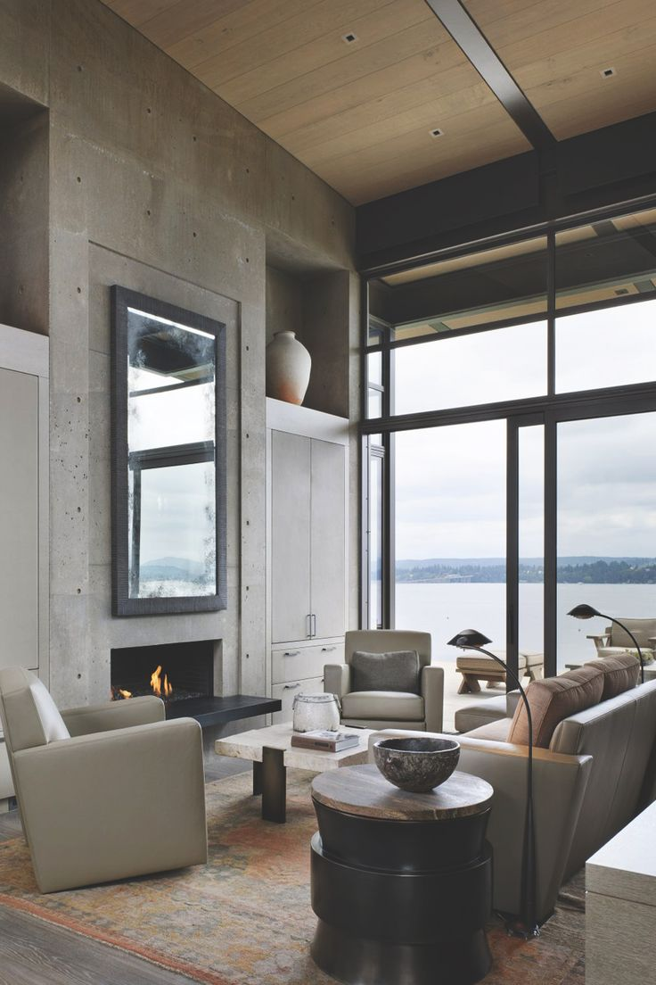 82 best super chique images on pinterest architecture my house concrete wall decoration by sullivan conard architects this house by sullivan conard architects displays some great decorating ideas for interior concrete amipublicfo Gallery