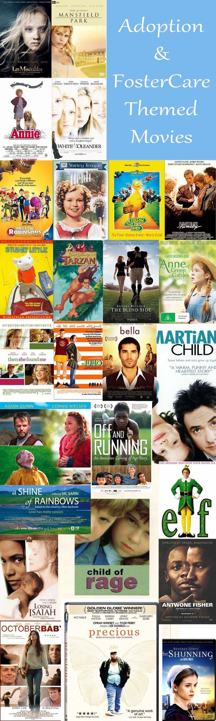 Adoption and foster care themed movies a growing list