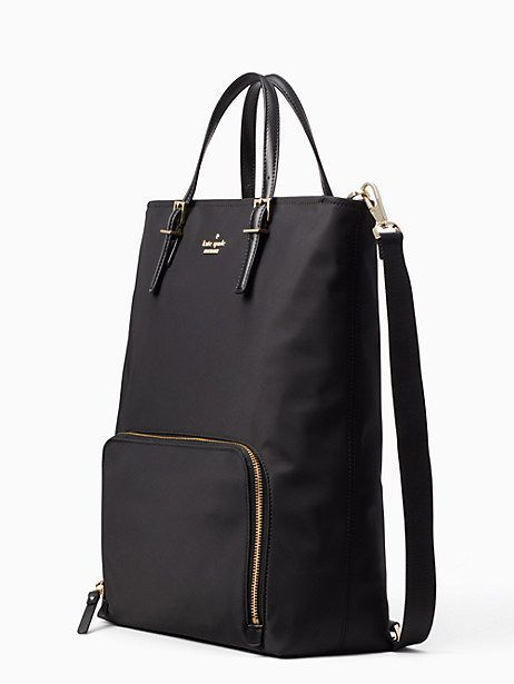 5ed60116caf Kate Spade Convertible Backpack Laptop Bag, Black  pursessimilartokatespade