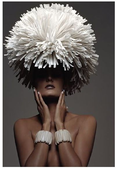 from Zoe Bradley, fashion artist, who creates oversize silhouettes for runway shows, window displays & editorials. Amazing work. via trendland