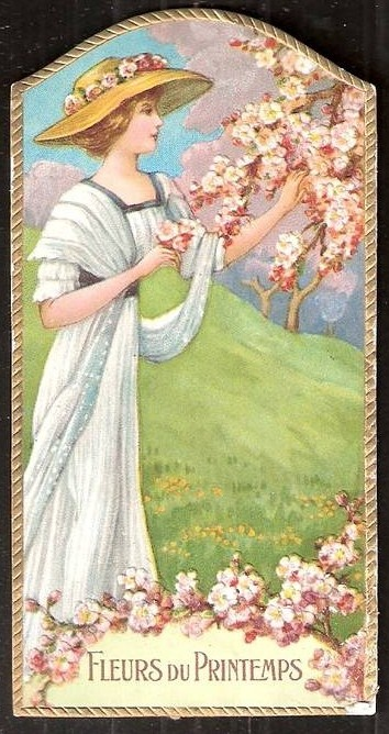 Spring Flowers perfume label