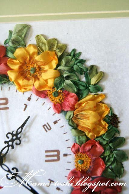 Блог Мамы Тоши или Руками Алены Рыковской: Часы с шиповником