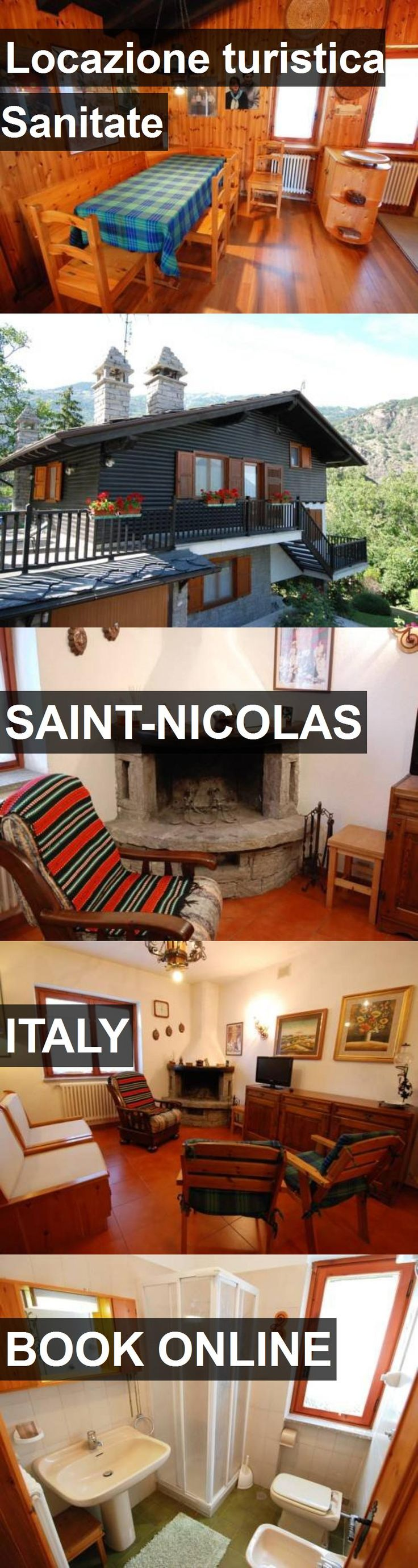 Hotel Locazione turistica Sanitate in Saint-Nicolas, Italy. For more information, photos, reviews and best prices please follow the link. #Italy #Saint-Nicolas #travel #vacation #hotel