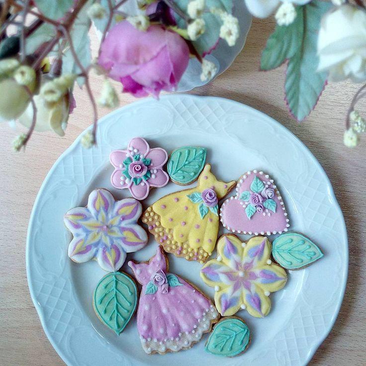 Ароматное печенье.