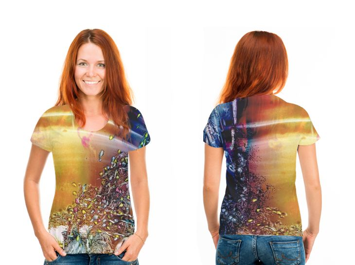 OArtTee specializes in creating amazing, vibrant and colorful Wearable Art, created by Original Artists