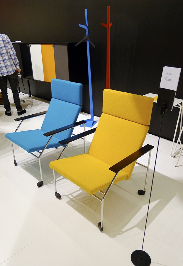 Visio chairs by Simo Heikkilä and Yrjö Wiherheimo for Vivero.