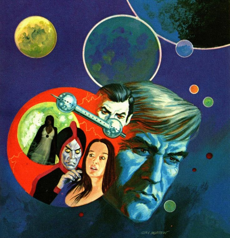 The Vault Of Retro Sci Fi: 51 Best Gray Morrow Artwork Images On Pinterest