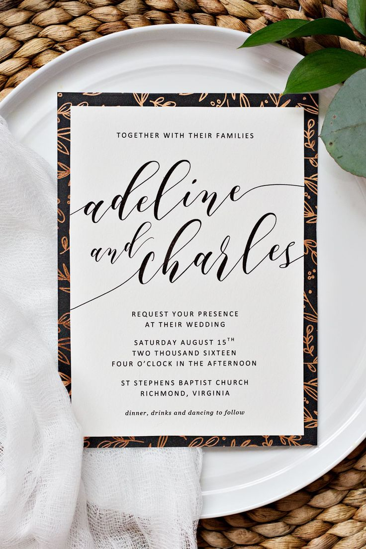 tulip wedding invitation templates%0A To spruce up your printable wedding invitations  we recommend adding glitz  and charm by creating