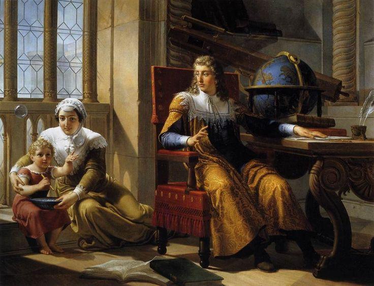 Pelagio Palagi, Isaac Newton scopre la rifrazione della luce (1827).  Leggi la descrizione completa del dipinto: http://www.finestresullarte.info/operadelgiorno/2014/240-pelagio-palagi-isaac-newton-scopre-la-rifrazione-della-luce.php