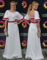Resultado de imagen para vestido mariana fabbiani