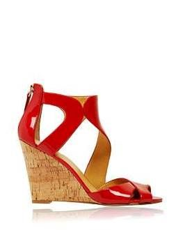 Patent Red wedges from Nine West Marina Mirage the perfect shoe for Christmas Eve, Christmas day...... Nine West Marina Mirage (07) 5532 1437