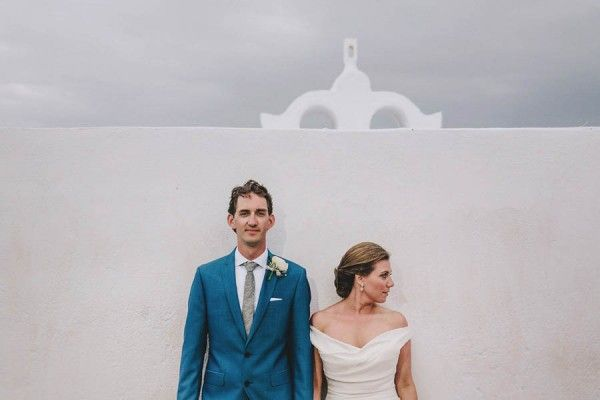 Greek Destination Wedding at the Ikies Traditional Houses. Feautured on Junebugweddings