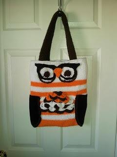Nerdy Owl Purse Free Pattern
