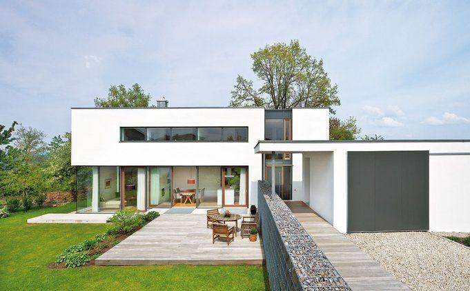 Lieblich Energieeffizientes Flachdach Haus Im Bauhaus Stil | Haus U0026 Bau | Zuhause3.de