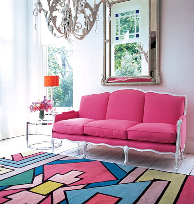 49 best Hot Pink Décor images on Pinterest | Front rooms, Drawing ...