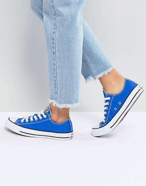 99f5b38c62e8aa Converse Chuck Taylor All Star Ox Sneakers In Royal Blue