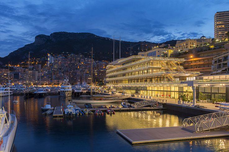 Новый яхт клуб в Монако от Foster + Partners