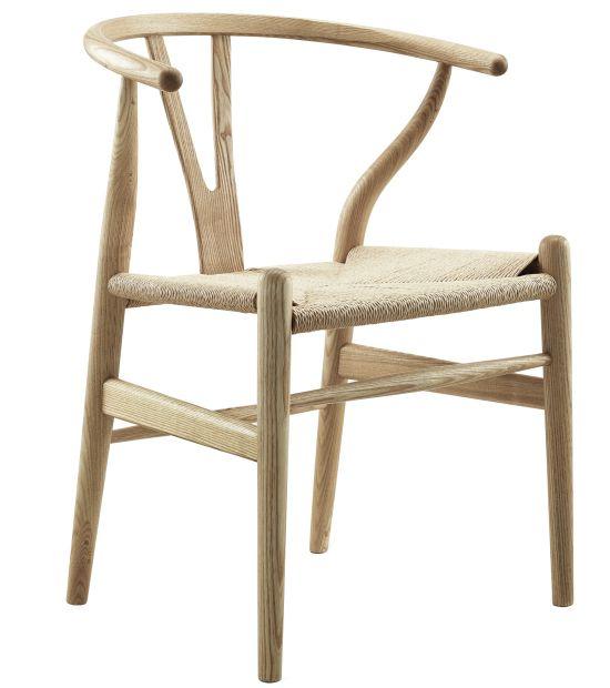 Stuhl Wishbone CH24 Style (Esche)