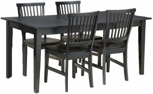 32 best dinettes images on pinterest dining room tables for Arts and crafts 5 piece dining set