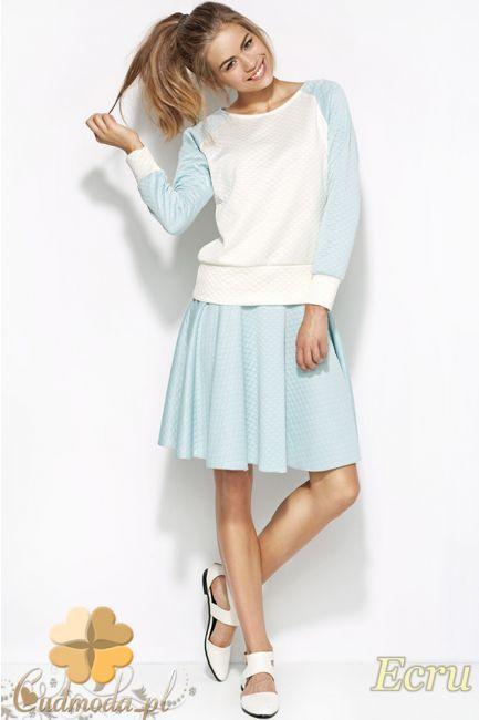 Pikowana kobieca bluzka marki Alore.  #cudmoda #ubrania #styl #moda #odzież #bluzki #clothes