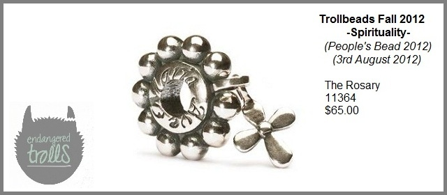 Trollbeads Fall 2012 Spirituality Collection - The Rosary