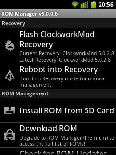 China Firmware Download: How to - Install ClockworkMod on Huawei U8180