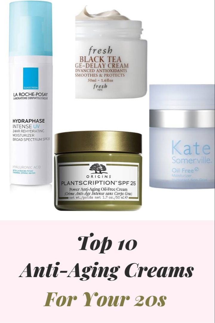 Best Anti Aging Creams For 20s Best Anti Aging Creams Anti Aging Skin Products Best Anti Aging