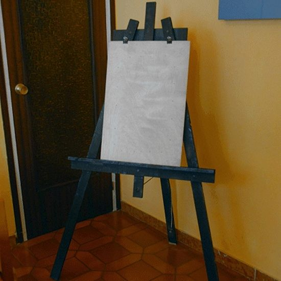 Kids easel made by Rose