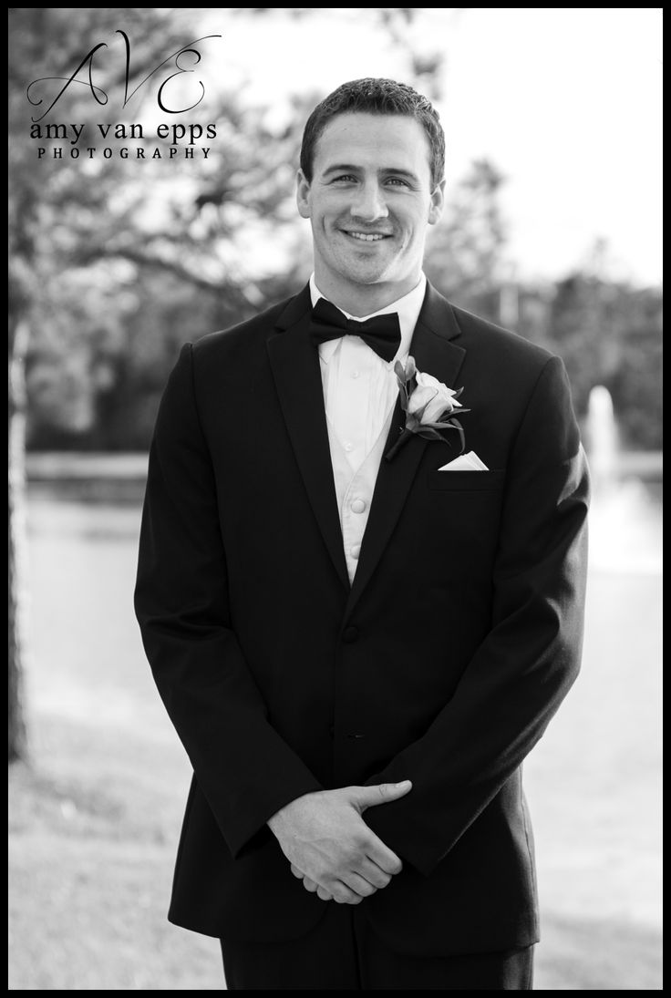 Ryan Lochte was a groomsmen at one the weddings I ...