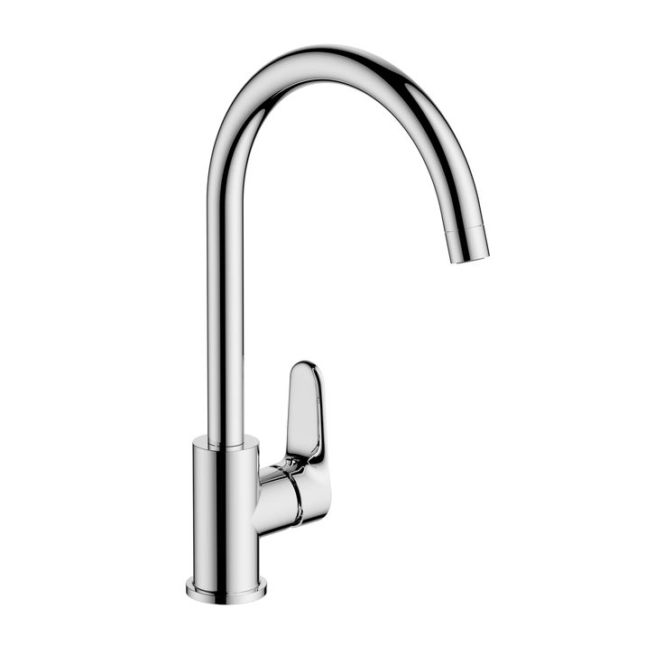 Cooke & Lewis Raneh Chrome Finish Kitchen Side Lever Tap | Departments | DIY at B&Q