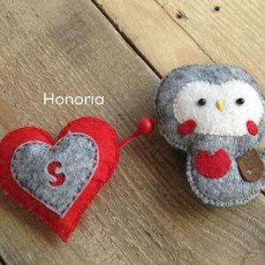 X-MAS madárkákkal (Honoria) - Meska.hu