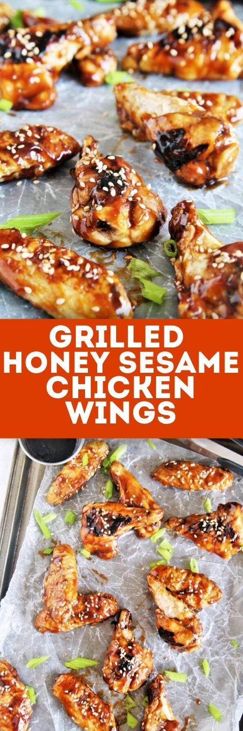 Jun 18, 2020 – These grilled honey sesame chicken wings make a crowd-pleasing appetizer, snack, or even an entree -they'…