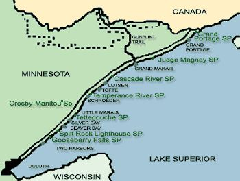 State Parks on MN North Shore #mspgetaway