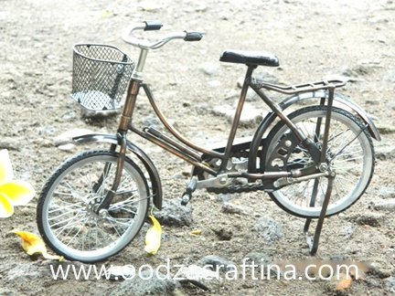 This classic miniature bike has many designs