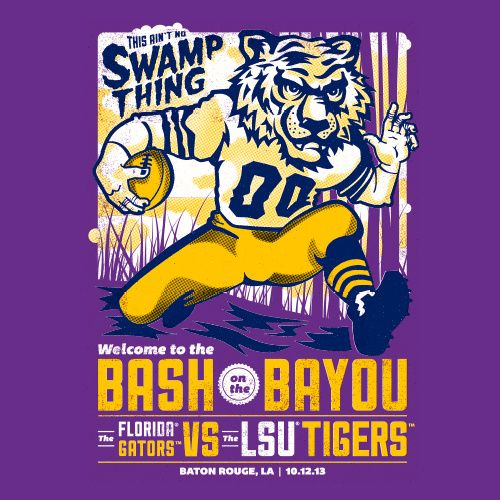 LSU 17                                            Florida 6 --------love those Tigers but don't appreciate Les Miles' foul mouth.